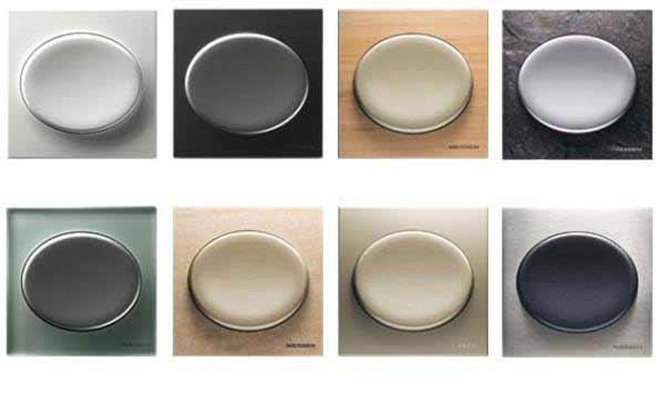 Interruptores y enchufes de diseño