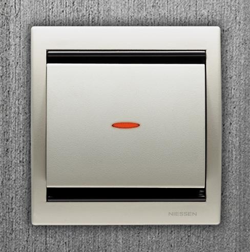 interruptores de diseño nissen olas blanco